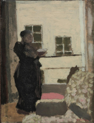 Мадам Вюйар у окна
