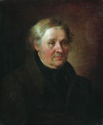 Alexander Grigorievich Varnek. Portrait Durnova. Astrakhan State Picture Gallery. P.M. Dogadin
