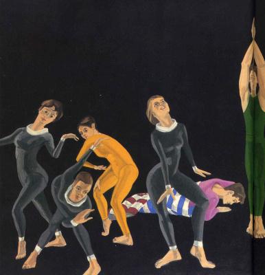 Alex Katz. Gymnasts