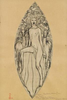 Elena Konstantinovna Luksh-Makovskaya. Orpheus