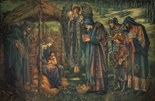 Edward Coley Burne-Jones. Bethlehem star