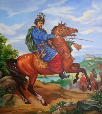"Julia Olegivna Dzhigun. Copy of ""Ivan Bogun"""