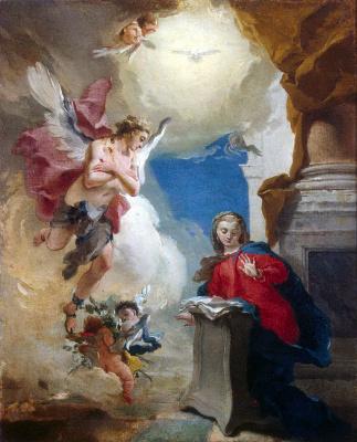 Giovanni Battista Tiepolo. The Annunciation