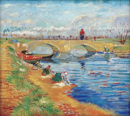 Винсент Ван Гог. Глейцкий мост над Каналом Вигура