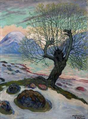 Nikolay Astrup. March morning