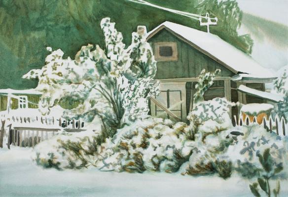 Виктор Михайлович Бородин. First snow