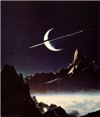 Чесли Бонестелл. Луна