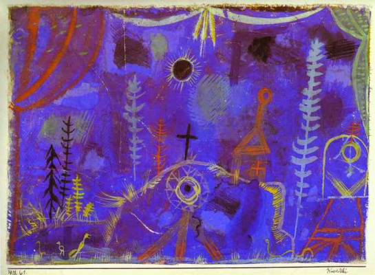 Paul Klee. Plot 35