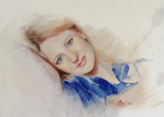 Любовь Маковская. Женский портрет