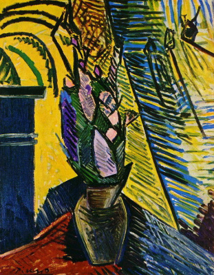 Пабло Пикассо. Цветы на столе