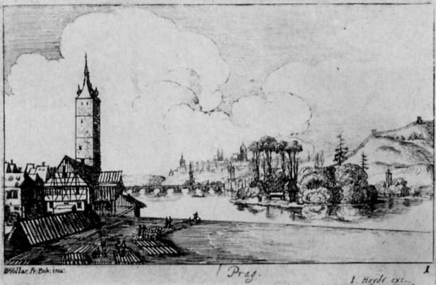 Венцель Холлар. Прага