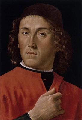 Давид Гирландайо. Портрет молодого мужчины
