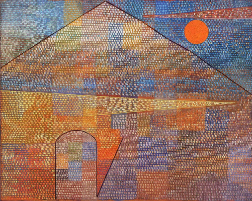 Paul Klee. To Parnassus