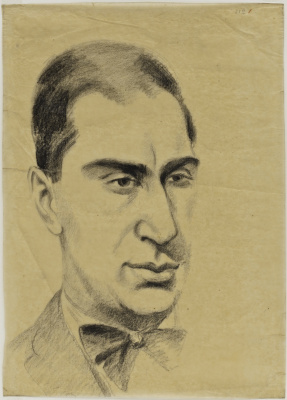 Robert Delaunay. Portrait of Ilya Zdanevich