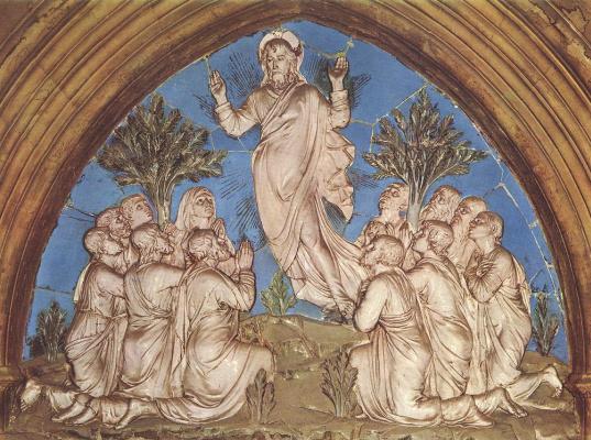 Лука Делла Роббиа. Вознесение Христа