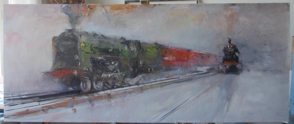Ivan Stepanovich Danilov. Trans-Siberian Express.