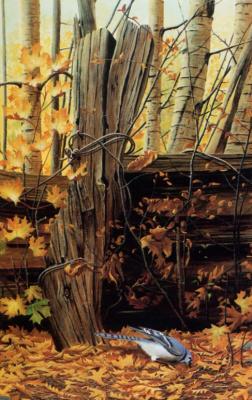 Жюль Бушар. Осенняя сцена