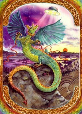 Эндрю Венди. Радужный земляной дракон