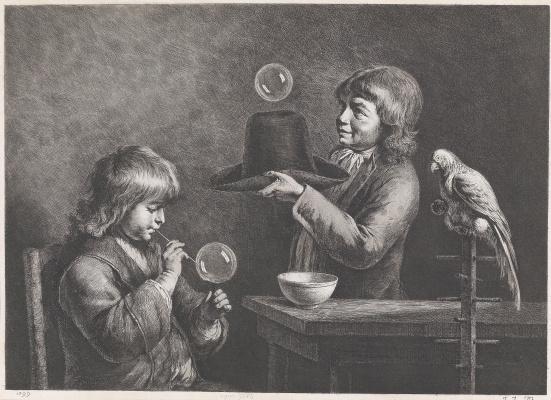 Жан-Жак де Буассье. Мыльные пузыри