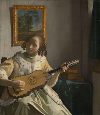 Jan Vermeer. Guitarist