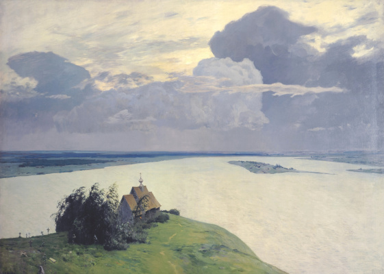 Isaac Levitan. Eternal rest