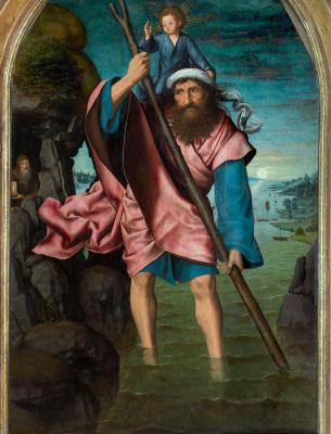 Quentin Masseys. Saint christopher