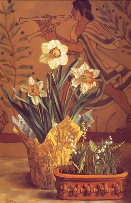Линделл Басс. Весенние цветы