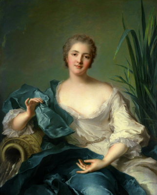 Жан-Марк Натье. Мари-Генриетта Бертело из Пленефа. 1739