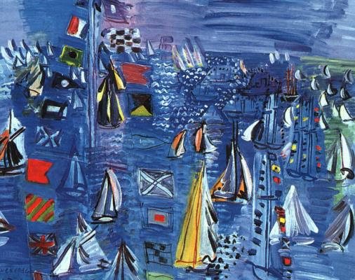 Raoul Dufy. Regatta