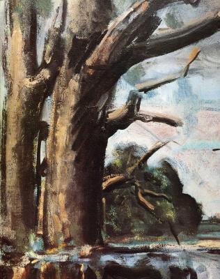 Макс Вебер. Дерево зимой
