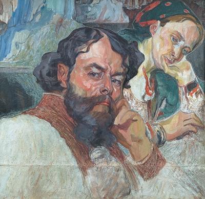 Олекса Новакивский. Автопортрет