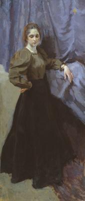 Осип Эммануилович (Иосиф) Браз. Портрет Елизаветы Михайловны Мартыновой. 1896
