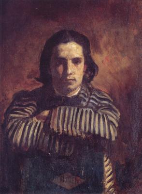 Жильбер де Северак. Портрет Клода Моне