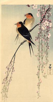 Ohara Koson. Birds 63