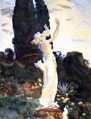 John Singer Sargent. Statue Of Daphne