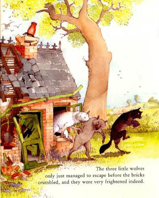 Хелен Охенбуру. Три маленьких волчонка и большой плохой свин 14