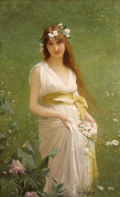 Jules Joseph Lefebvre. Spring.