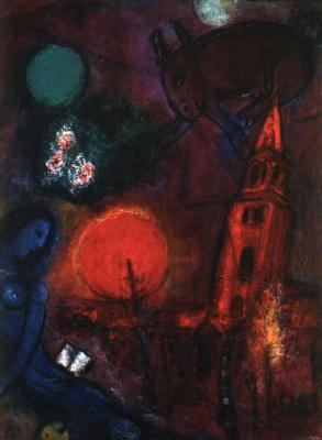 Marc Chagall. Saint-Germain-des-Prés