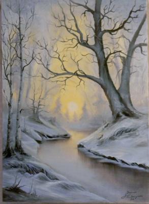 Александра Демидова. Зимний пейзаж