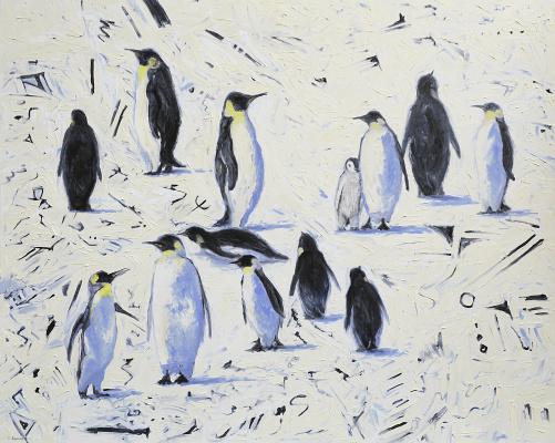 Sergei Lutsenko. 13 penguins