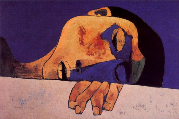 Освальдо Гуаясамин. Портрет 27
