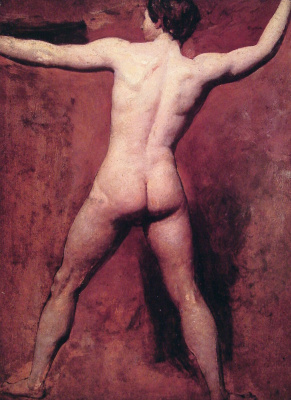 Etty William. A naked man