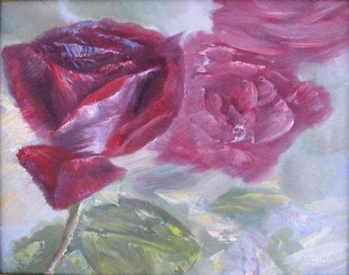 Alexander Ivanovich Vlasyuk. Roses-2013