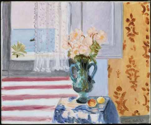 Henri Matisse. Vase with flowers