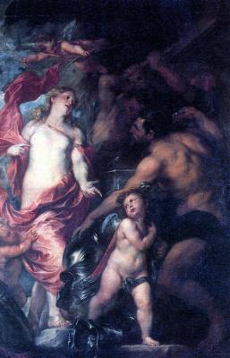 Антонис ван Дейк. Венера, просящая у Вулкана оружие для Энея