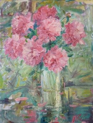 Valerij Ivanovich Sosna. Pink Flowers