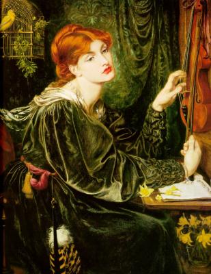 Dante Gabriel Rossetti. Veronica Veronese