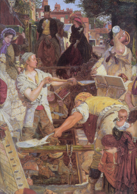 Ford Madox Brown. Work. Fragment
