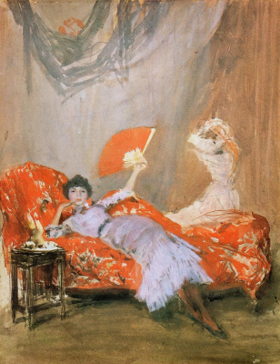 James Abbot McNeill Whistler. Millie Finch