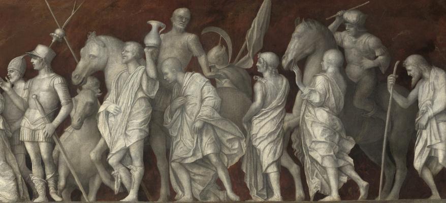 Giovanni Bellini. An episode from the life of Publius Cornelius Scipio. Fragment II